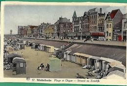 ! - Belgique - Middelkerke - Plage Et Digue - Middelkerke