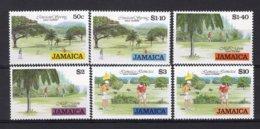 JAMAICA Yt. 837/842 MNH** 1994 - Jamaique (1962-...)
