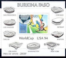 Burkina Faso 0886/87 Et Bf 45 Mondial Football USA 94 - World Cup