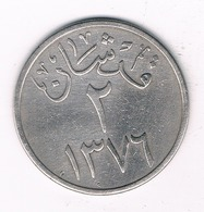 2 GHIRSH  AH 1376  SAOEDI- ARABIE/2366/ - Arabie Saoudite