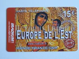 IRADIUM  Europe De L'Est 15 €  - 31/12/2005 - France