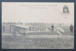 CPA - Nantes - Grande Semaine D'aviation - Le Pilote NIEL Sur Appareil Nieuport - Avions