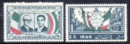 XP4323 - IRAN PERSIA 1957,  Serie Yvert N. 889/890 ***  GRONCHI - Iran