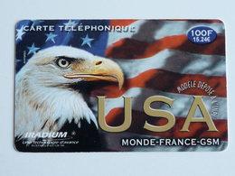 IRADIUM  USA  Carte Brillante -  100F - 31/12/2001 - France