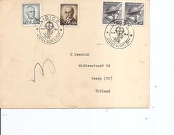 Tchécoslovaquie - Massacre De Lidice ( CP Commémorative  De 1946  De Lidice Vers Les Pays-Bas à Voir) - Czechoslovakia