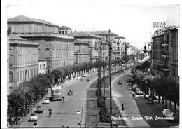 Modena. Corso Vittorio Emanuele. Filobus. - Modena