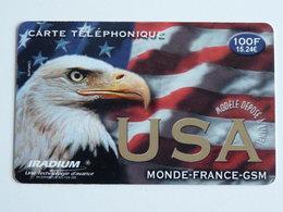 IRADIUM  USA  Carte Mat  -  100F - 30/4/01 - France
