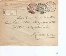 Italie ( Lettre Recommandée De 1919 De Chieti Vers Rome à Voir) - 1900-44 Vittorio Emanuele III