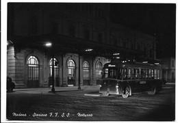 Modena. Stazione Ferroviaria. Filobus. - Modena