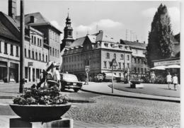 AK 0189  Reichenbach ( Vogtl. ) - Bahnhofstraße-Roßplatz / Ostalgie , DDR Um 1977 - Reichenbach I. Vogtl.