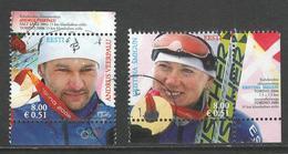 Estland, Mi 549-50 Jaar 2006, Uit Blok, Reeks, Gestempeld - Estonie
