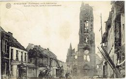 AVELGHEM - Kerkstraat Na De Beschieting - Rue De L'Eglise Après Le Bombardement - Phot. Gyselinck, Kortrijk - Avelgem