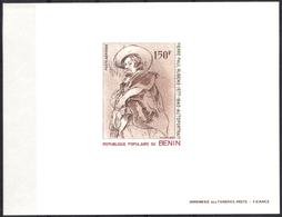 Benin - 1977. Luxe Block (Stamp Michel #107) Flemish Painter - P. P. Rubens - Bénin – Dahomey (1960-...)