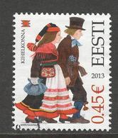 Estland, Mi 759 Jaar 2013, Gestempeld - Estonie