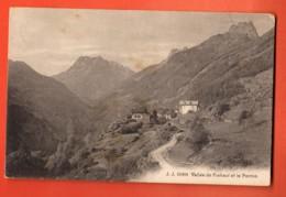 TRY-03 Vallée De Finhaut Trient, Village Et Le Perron.  Circulé 1919. Jullien 10404 - VS Valais