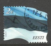 Estland, Mi 788 Jaar 2014, Hoge Waarde, Gestempeld - Estonie