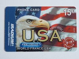 IRADIUM  USA  Carte Mat  -  15 € - 31/12/2005 - France