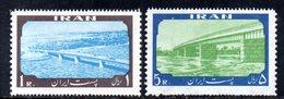 XP4332 - IRAN PERSIA 1960,  Serie Yvert N. 951/952 ***  Ponte - Iran