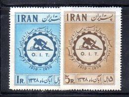 XP4333 - IRAN PERSIA 1959,  Serie Yvert N. 943/944 ***  Oit - Iran