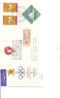 JO De Tokyo -1964 ( Lettre Recommandée De Pologne De 1964 De Varsovie Vers Le Japon à Voir) - Estate 1964: Tokio