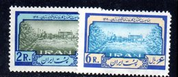 XP4337 - IRAN PERSIA 1962,  Serie Yvert N. 980/981 ***  Zucchero - Iran
