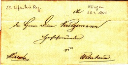 Usingen - Wehrheim - Historical Documents