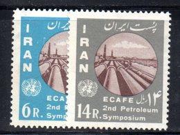 XP4340 - IRAN PERSIA 1962,  Serie Yvert N. 991/992 ***  Petrolio - Iran
