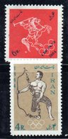 XP4344 - IRAN PERSIA 1964,  Serie Yvert N. 1084/1085 ***  Tokyo - Iran