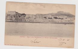 NAPOLI, Santa Lucia, Pizzofalcone E S. Martino, Ediz. Ragozino N° 1597  - F.p. - Fine '1800 - Napoli