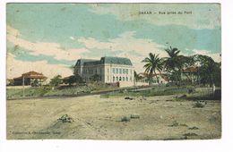 CPA. Dakar. Vue Prise Du Port.  (F.391) - Sénégal