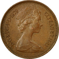 Monnaie, Grande-Bretagne, Elizabeth II, 1/2 New Penny, 1979, TTB, Bronze, KM:914 - 1971-… : Monnaies Décimales