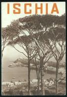 DEPLIANT TURISTICO ANNI 30 ISOLA D'ISCHIA - VEDUTE MAPPA  ITINERARI E DESCRIZIONI LOCALITA' - Dépliants Touristiques