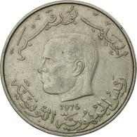 Monnaie, Tunisie, Dinar, 1976, Paris, TTB, Copper-nickel, KM:304 - Tunisia