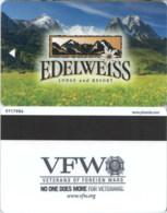 Edelweis Lodge & Resort Garmisch-Partenkirchen--1405- -key Card, Room Key, Schlusselkarte, Hotelkarte - - Cartes D'hotel