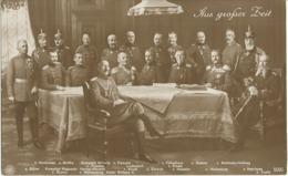 Kaiser Wilhelm II., Kronprinz Wilhelm V. Preußen, Kronprinz Rupprecht V. Bayern, V. Moltke, V. Hindenburg, Ludendorff... - Oorlog 1914-18