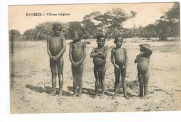 CPA. Sambèze. Fillettes Indigènes.        (F.405) - Zambie
