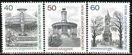 Berlin - Mi 634 / 636 - ** Postfrisch (D) - Berliner Ansichten III - Unused Stamps