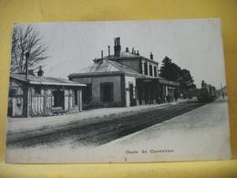 8G 7698 CPA 1904 - 50 GARE DE CARENTAN - ANIMATION. TRAIN. - Gares - Avec Trains