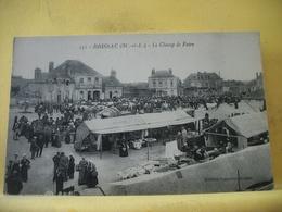 8G 7694 CPA - 49 BRISSAC. LE CHAMP DE FOIRE - TRES BELLE ANIMATION. LE MARCHE. - Marchés