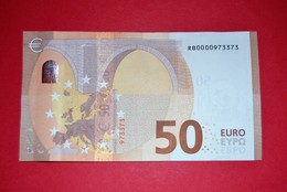50 EURO GERMANY (BERLIN) R005F2 - Low Serial Number - RB0000973373 - See Scan - EURO