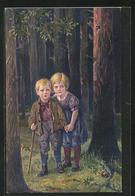 Künstler-AK Alfred Mailick: Hänsel & Gretel - Mailick, Alfred