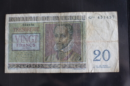 M-An / Billet  - Royaume De  Belgique, 20 Francs / Année 1956 - [ 6] Trésorerie