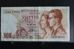 M-An / Billet  - Royaume De  Belgique, 50 Francs / Année 1966 - [ 6] Trésorerie