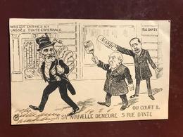 1 CP Illustrateur GE - Dreyfus Séparation Affaire D'état , Rue Dante  - Politique Satirique - Satiriques