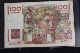 M-An / Billet  -  Banque De France 100 Francs / Année 1945 - 1871-1952 Anciens Francs Circulés Au XXème