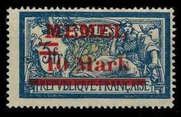 MEMEL 1921 Nr 38aI Ungebraucht X886592 - Memel (Klaïpeda)