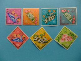 TOGO 1967 Exposición En Montreal  Flores Yvert 536 / 38 + PA 71 / 74 ** MNH - Togo (1960-...)