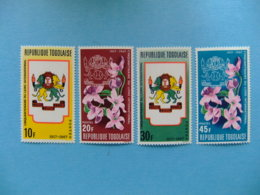 TOGO 1967 Lions International Flores Yvert 539 / 42 ** MNH - Togo (1960-...)
