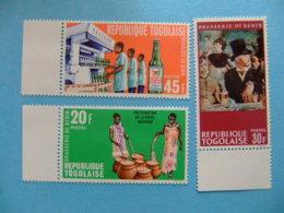TOGO 1968 Brasseri Du Bénin Yvert 569 / 71 ** MNH - Togo (1960-...)