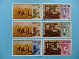 TOGO 1968 Industria Togolesa Yvert 560 / 565 ** MNH - Togo (1960-...)